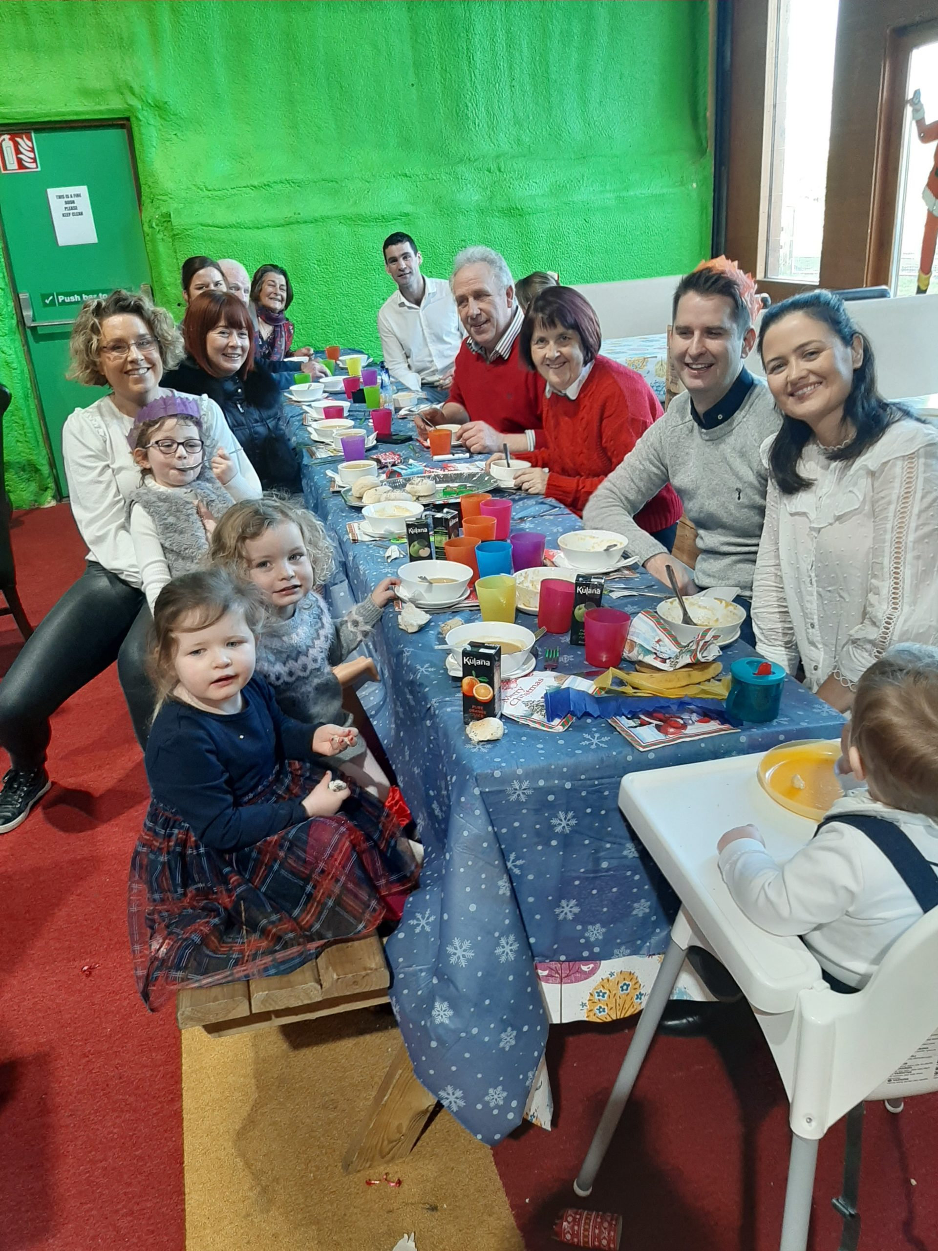 Emotional Christmas Day for Meath play centre owners who hosted homeless families